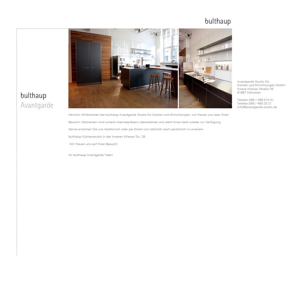 bulthaup k chen m nchen avantgarde bulthaup k chen gaggenau miele. Black Bedroom Furniture Sets. Home Design Ideas